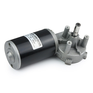 59mm DC Worm Gear Motor
